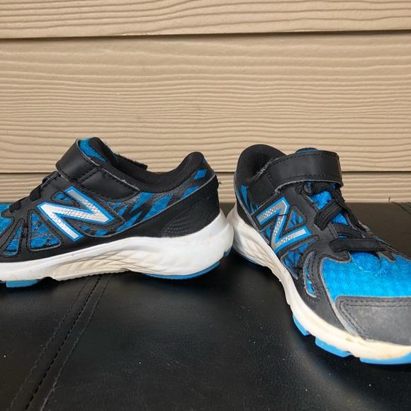 New Balance Other - NEW BALANCE Euc-Boy's  black & blue sneakers-12